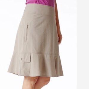 Royal Robbins | Women's Tan Discovery Skirt Size 8